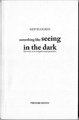 Leif Elggren - SOMETHING LIKE SEEING IN THE DARK